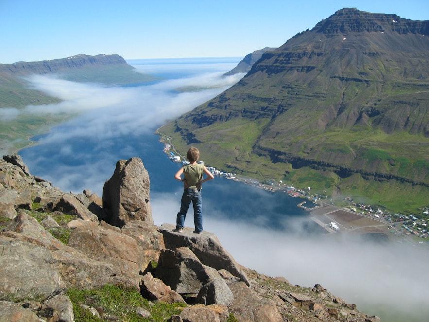 Widok na Seydisfjordur