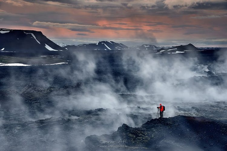 This highland adventure will allow you to capture Iceland's geothermal areas in summer.