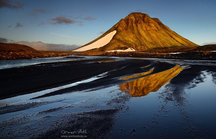 The Icelandic highlands are stark, dramatic, and usually only accessible in summer.