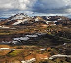 Even in summer, you will find a lot of snow across the Icelandic Highlands.