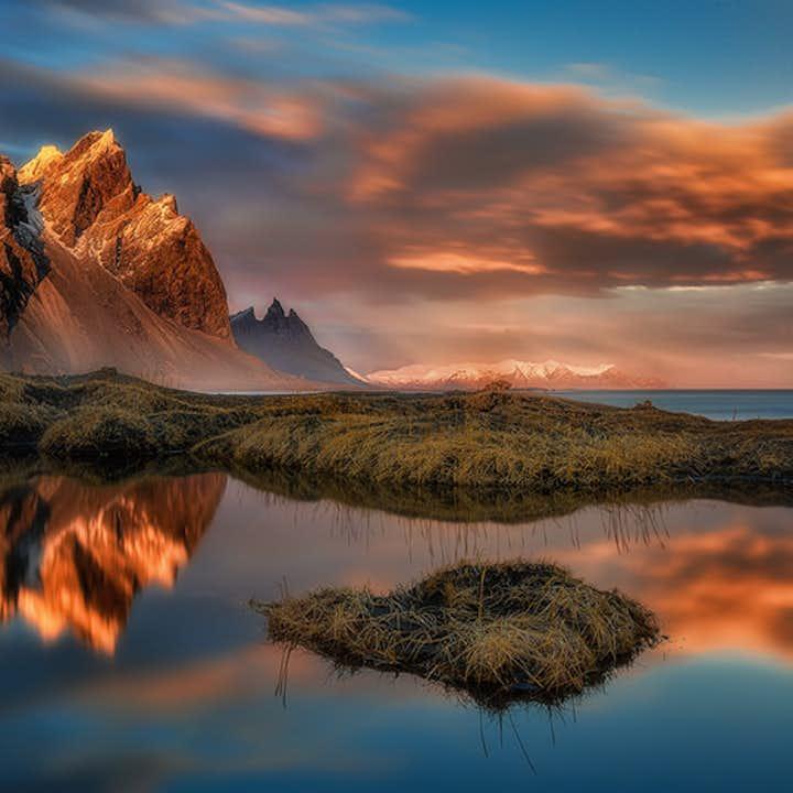 午夜阳光摄影团|12天11夜跟随专业摄影师导游环冰岛一号公路