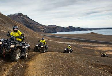 ATV Tour Reykjanes Peninsula & Blue Lagoon