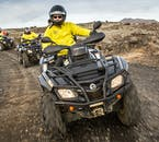 The guide will be quick to provide you with a helmet, windproof/waterproof  layers, balaclavas and gloves, all the necessary equipment for an ATV tour.