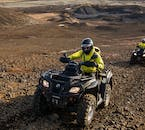 ATVs can be used to reach areas otherwise inaccessible by foot or larger vehicles.