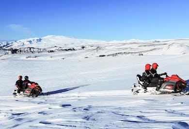 Snowmobile Tour on Myrdalsjökull Glacier