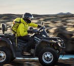 An ATV is short for All Terrain Vehicles. The machines are also referred to as quad bikes.