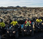 You will traverse all kinds of strange and challenging terrain from the back of your Quad Bike.