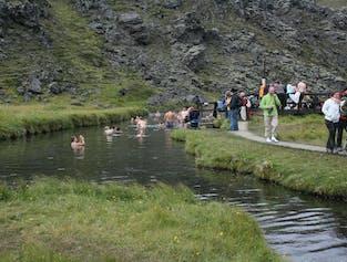 Landmannalaugar Day tour - hiking and bathing