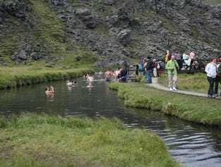 Landmannalaugar Day tour - hiking and bathing