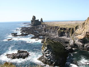 Snaefellsnes Peninsula and Cave Exploration