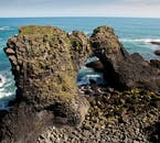 Snæfellsnes is known for its unusual and beautiful coastal formations.
