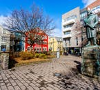 On this culture tour, you will some of the most important parts of the city, such as Austurvöllur.