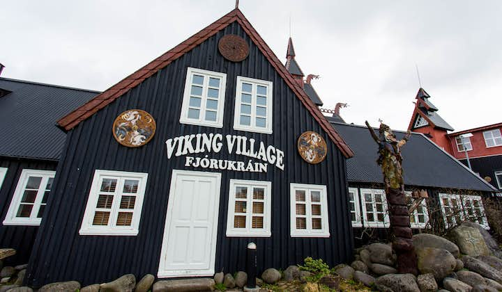 The Viking Village is an exhibition which provides an insight into the settlement period of Iceland.