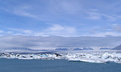 Vatnajökull glacier is larger than all other glaciers in the country combined.