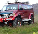 A Super Jeep means you can access all parts of Landmannalaugar and its surroundings throughout the summer.
