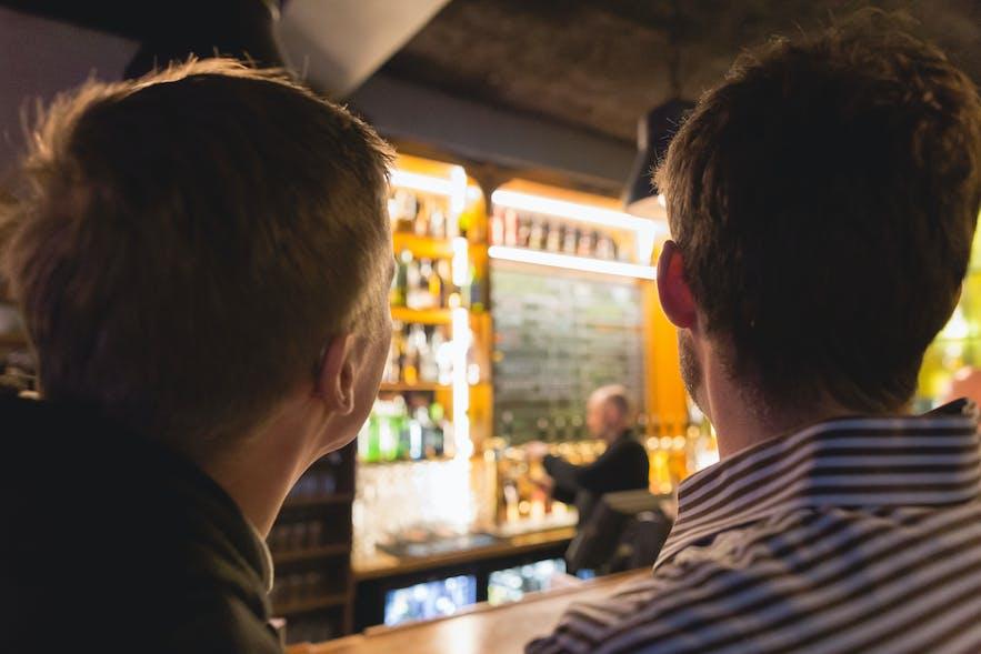 "The Reykjavik Craft beer ""Bar-muda triangle"""