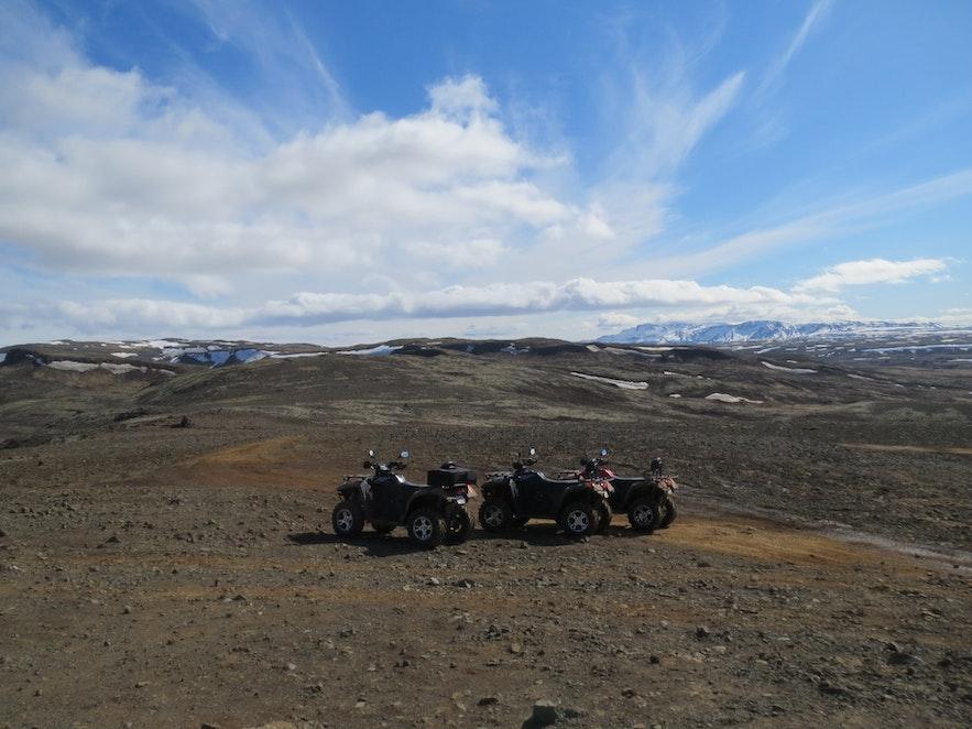 ATV Tour en Reykjavik