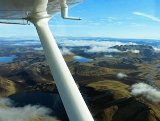 Flight Sightseeing | Landmannalaugar & Skaftafell Nature Reserve