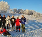 Going cross-country skiing in North Iceland is an essential winter experience.