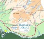 クヴォルスヴォットルルとヴィークの町の間にあるBakki国内線空港から出発する遊覧飛行ツアー