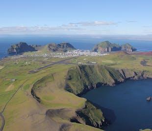 現地発 ウェストマン諸島とスルツェイ島の遊覧飛行
