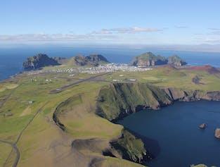 Westman Islands Flightseeing Tour | South Coast Departure