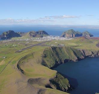 Westman Islands Flightseeing Tour   South Coast Departure