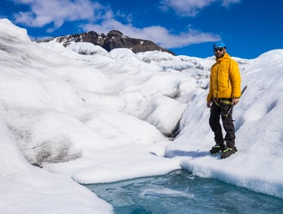 Glacier walk on Vatnajökull - away from the crowd