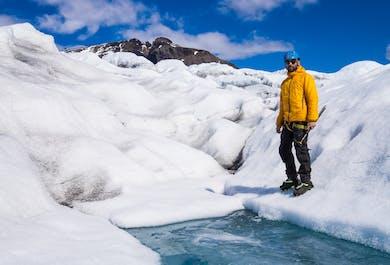 Glacier Walk on Vatnajökull   Away from the Crowds   Medium Difficulty