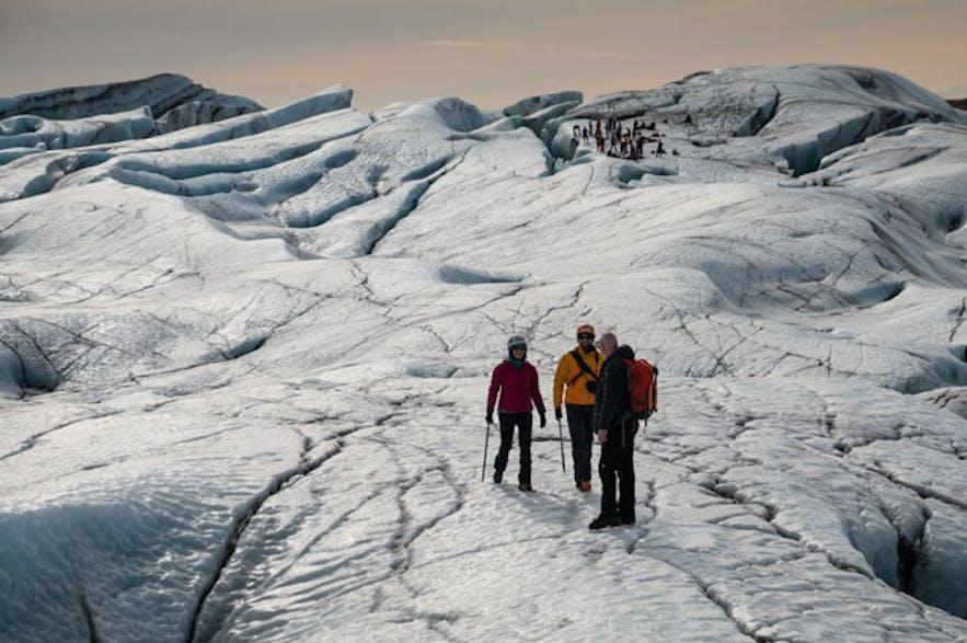 斯卡夫塔山冰河健行