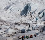 Glacier Hiking in Skaftafell is the perfect group activity for those on the South Coast of Iceland.