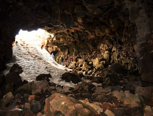 Golden Circle and Lava Tube Caving Tour