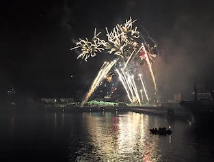 New Year's Eve Celebration at Sea