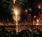 Thousands of households contribute to the incredible New Year's Eve celebration in Reykjavík.