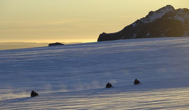 Motoneige sur le glacier Langjokull | Départ de Reykjavik