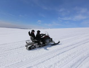South Iceland Super Jeep Tour   Golden Circle & Snowmobiling