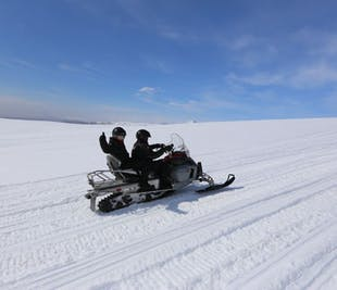South Iceland Super Jeep Tour | Golden Circle & Snowmobiling
