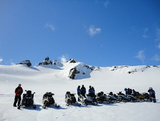 Snowmobile Tour on Vatnajökull Glacier