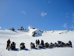 Snowmobile Tour on Vatnajökull Glacier