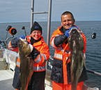 Take photos with your catch on this sea angling tour from Húsavík.