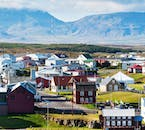 Quaint, historic fishing settlements such as Arnarstapi and Hellnar are dotted across the Snæfellsnes Peninsula.