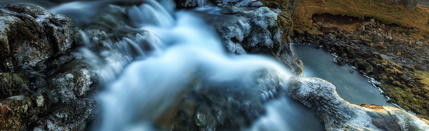 Kirkjufell mountain lies just outside Snæfellsjökull National Park