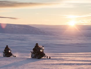 Snowmobiling and the Ice Tunnel | Complete Langjökull Glacier Tour