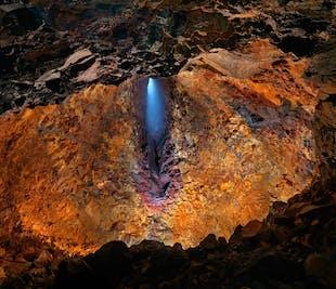 Вертолетная экскурсия на вулкан Трихнукагигур