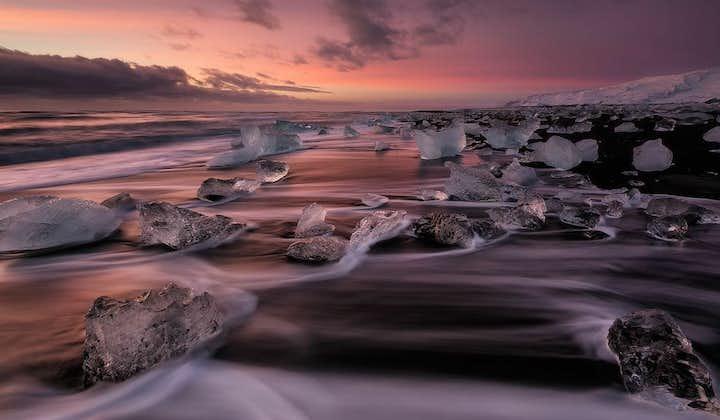 Dagstur till issjön Jökulsárlón från Reykjavik
