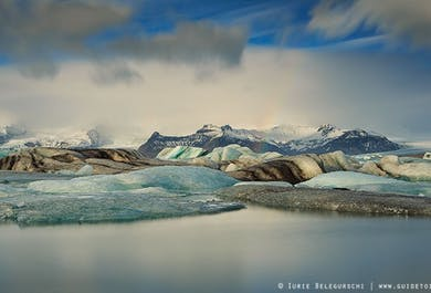 Escursione giornaliera alla laguna glaciale Jökulsárlón