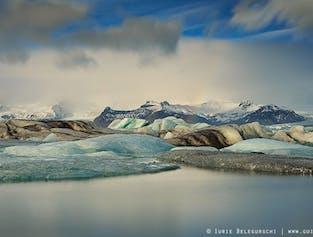 Excursión de un día a la Laguna glaciar de Jökulsárlón