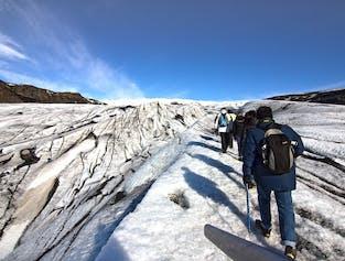南海岸の滝と氷河ハイキングの旅|健脚者向け