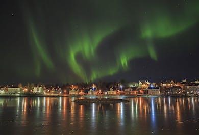 Excursión en autobús para ver auroras boreales desde Reikiavik