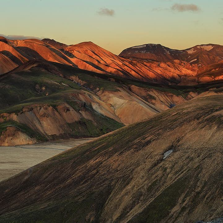 The many shades of Landmannalaugar in the Central Highlands.